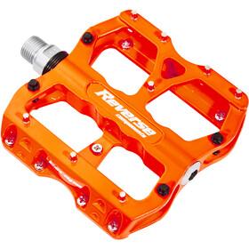 Reverse Escape Pedalen, neon orange